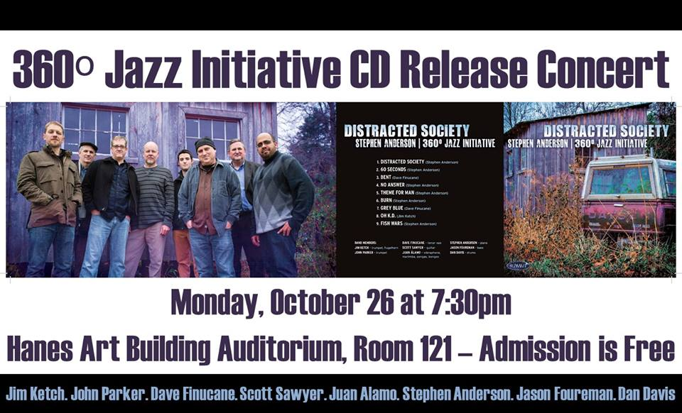 360° Jazz Initiative CD Release